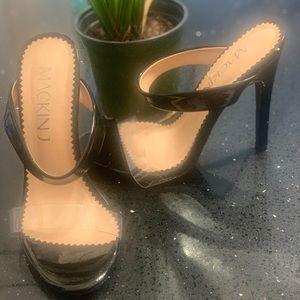 Two strap heels